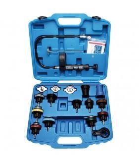 Testeur de circuit de refroidissement BGS avec système de remplissage. 18 pièces.