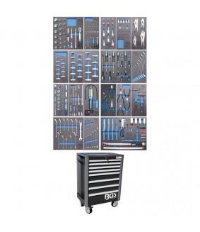 Servante d'atelier BGS Profi Exclusive 8 tiroirs - 259 outils