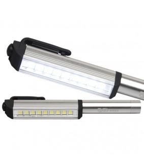 Baladeuse LED BGS en aluminium avec 9 LED