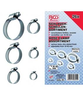 Assortiment de colliers BGS 26 pièces