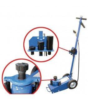 Cric hydraulique-pneumatique mobile 22 T BGS